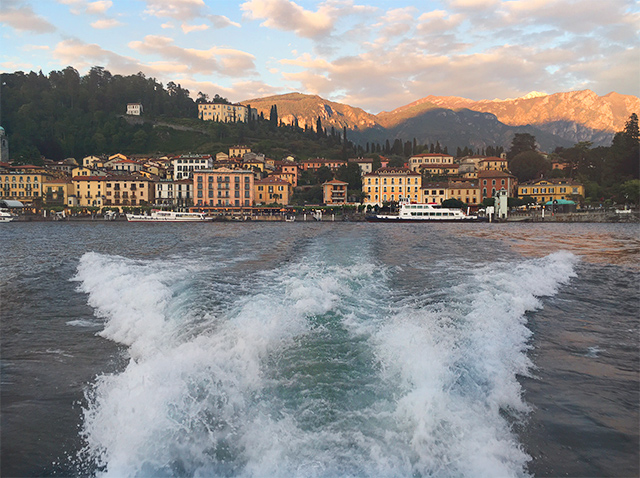 Lake Como Cruise & Bellagio excursion on Grand Tour of Italy