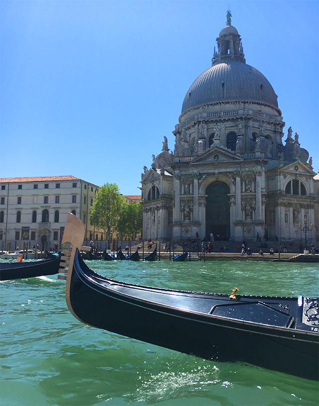 Gondola ride excursion on the Grand Tour of ITaly