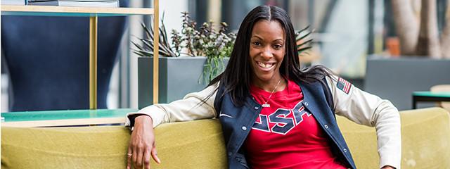 EF Olympics Ambassador DeeDee Trotter