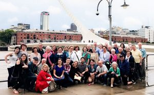 Group Coordinators and Go Ahead staff on the Buenos Aires Convention Tour