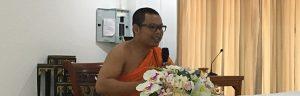 Monk at Wat Suan Dok