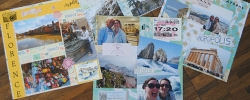 How to DIY a travel-themed shadow box