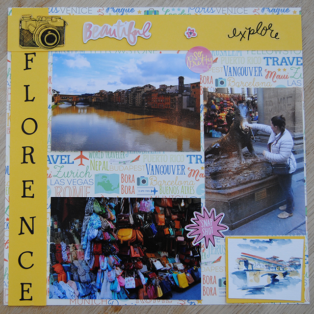 scrapbooking and shadow box inspiration florence
