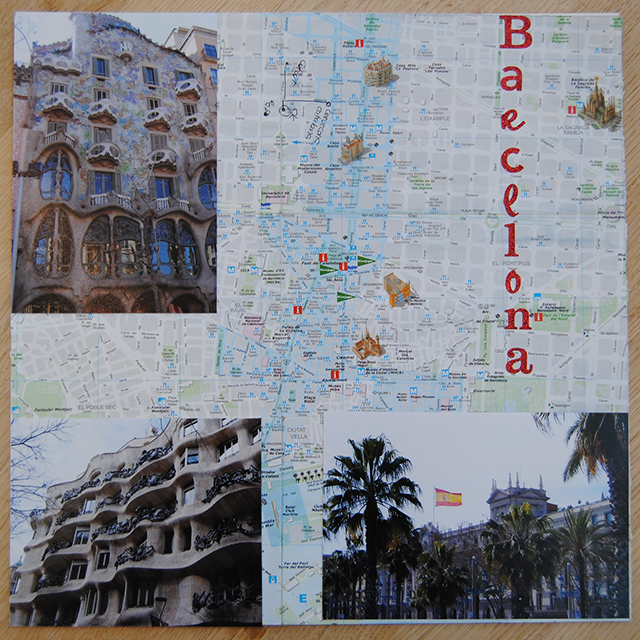 scrapbooking and shadow box inspiration barcelona