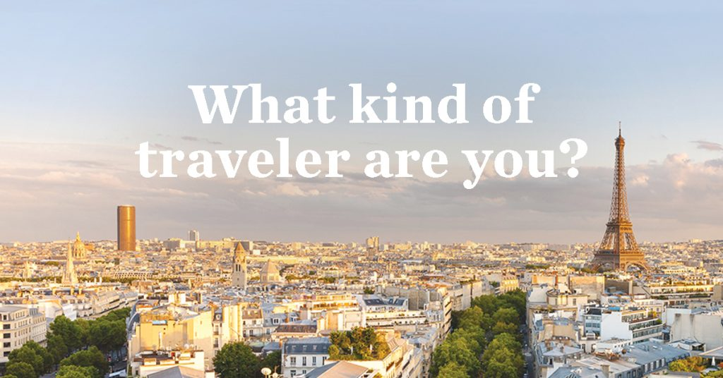 Ef Go Ahead Tours Travel Blog: What Kind Of Traveler Are You?