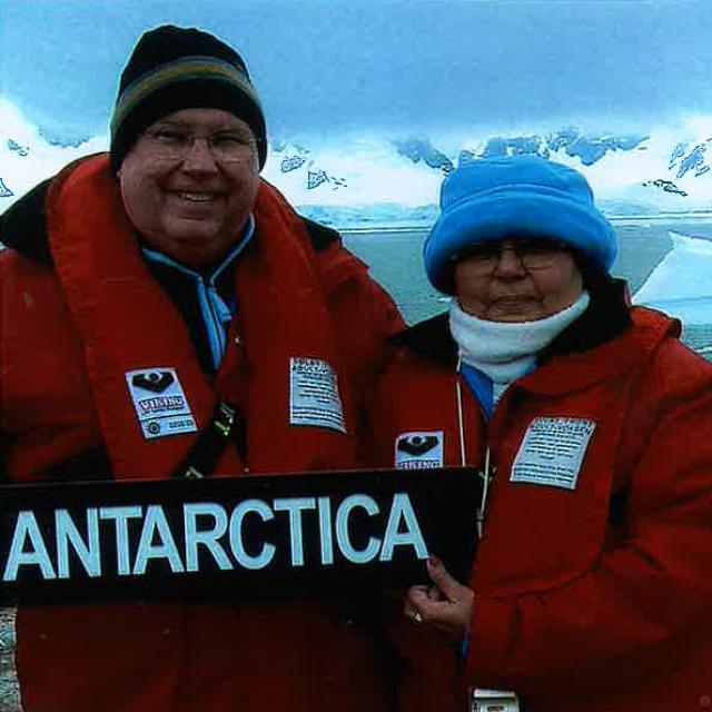 Irma in Antarctica