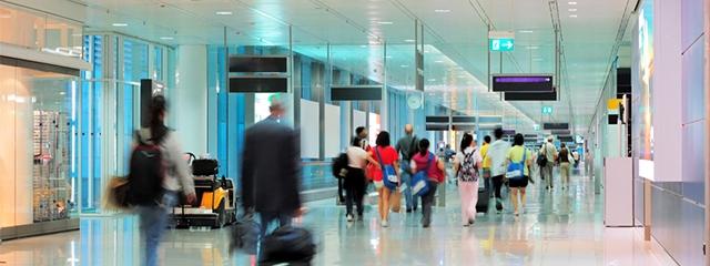 Airport travel delay