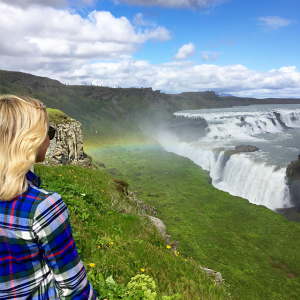 Chasing waterfalls and finding rainbows