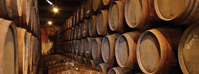 barrels of port wine