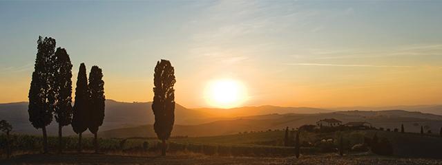 Tuscany, Italy in the fall