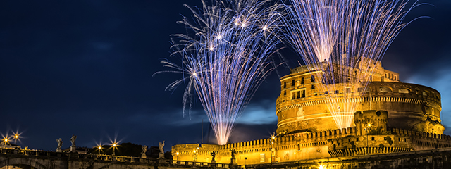 New Year's Eve in Rome, Italy