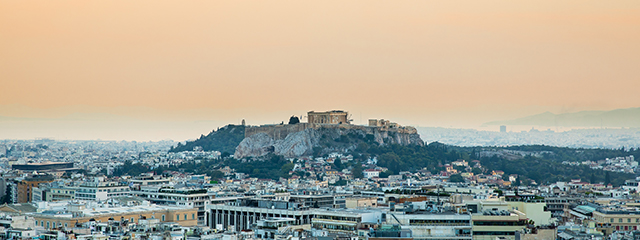 Spring in Athens, Greece