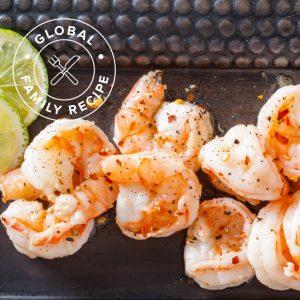 Australian grilled lime chili shrimp recipe