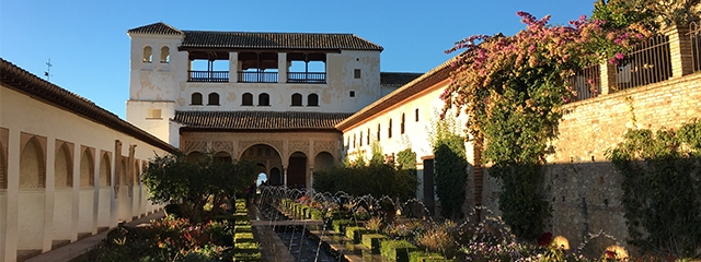 Generalife Gardens at the Alhambra