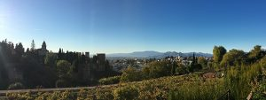 Granada as seen from the Alhambra