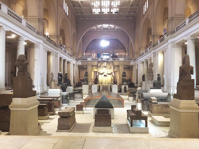 Museum of Egyptian Antiquities, Cairo, Egypt