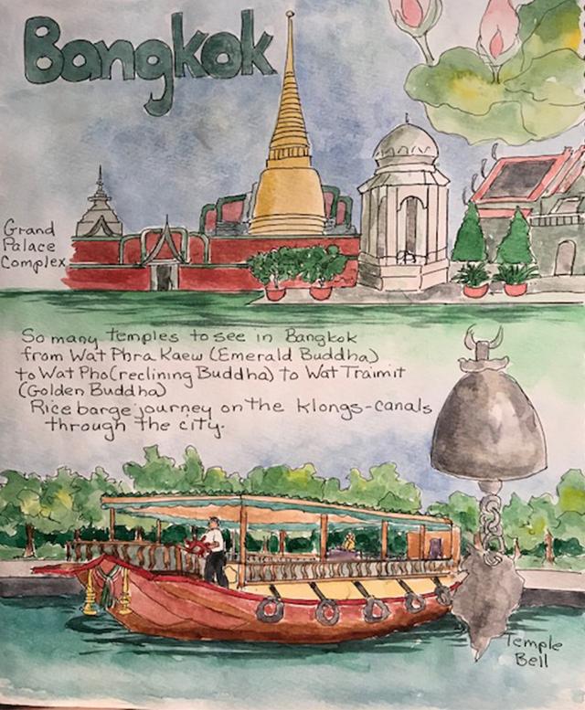 Bangkok-Thailand-temples-painting