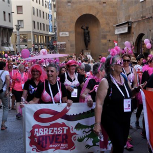 Pink Parade in Floernce