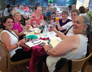 Wine tasting, San Gimignano