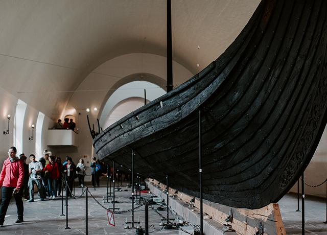 Viking museum, Denmark