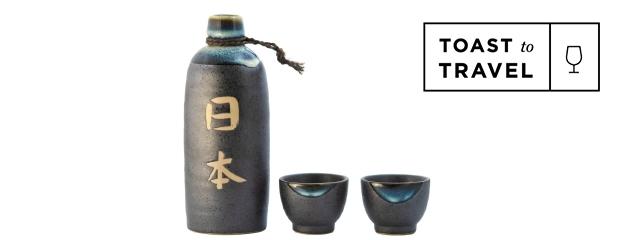 Sake - Toast to travel