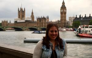 Courtney in London