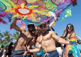 Gus Kenworthy, barely-there swimwear, and 15 need-to-knows about Miami Beach Pride