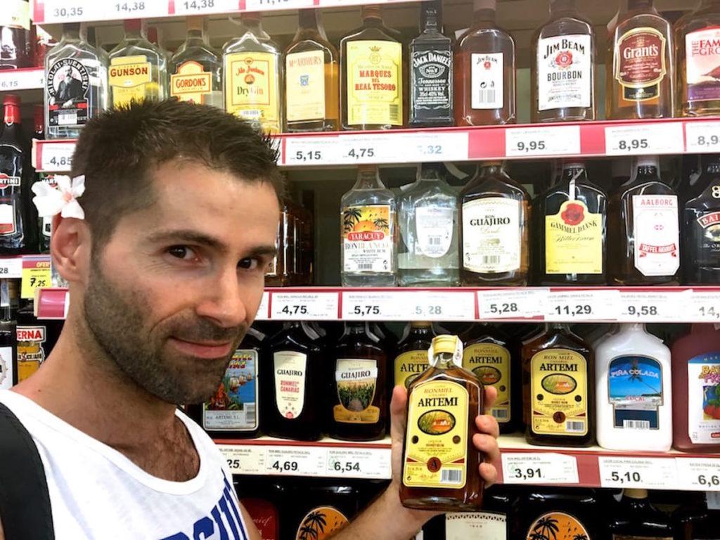 Gran Canaria rum