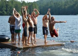 How would you like to spend an entire week in the woods with a bunch of cute guys?