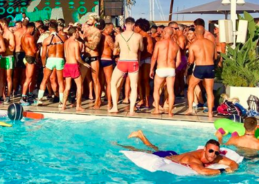 See which Barcelona circuit party's dress code is strictly swimwear