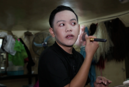 Video: Meet 'Rebecca,' the drag queen who finds safety and purpose at a Phnom Penh gay bar