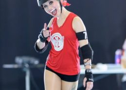 This roller derby champ wants you to have a kick-ass time at St. Petersburg pride