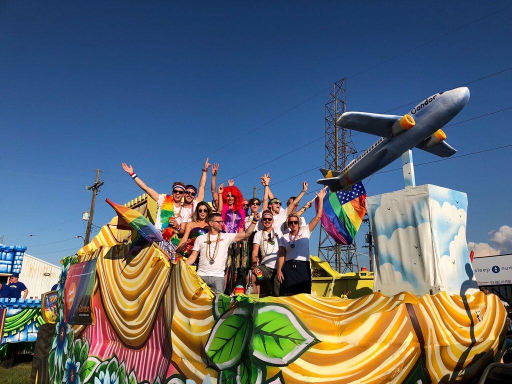 Condor Airlines Gay Pride Float