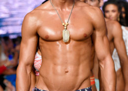 Check out the hot guys in tiny swimsuits at Miami Swim Week