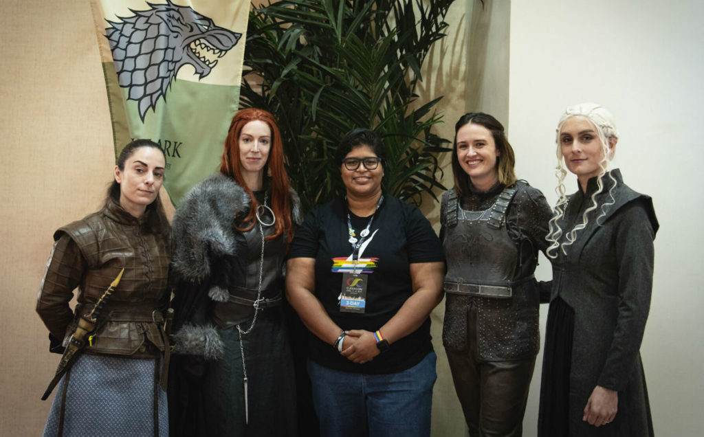 Game Of Thrones fans at ClexaCon