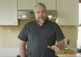 Watch this gorgeous bear of a man teach us how to fight the coronavirus