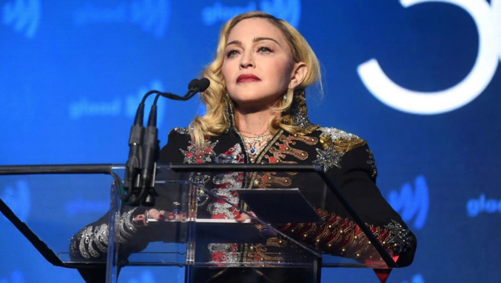 Madonna at the 2019 GLAAD Media Awards