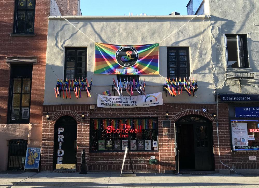 The Stonewall Inn in New York City (Photo: David Hudson)