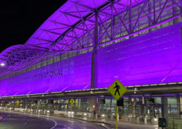 San Francisco goes purple to honor service workers hurt by the pandemic
