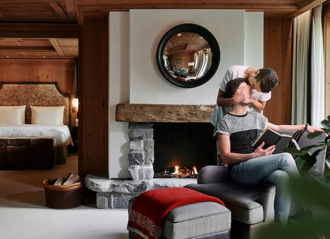 Grand de Luxe Suite, Alpina Gstaad
