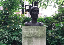 Pride in Places: Check out London's Virginia Woolf Monument