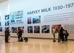 Remember Harvey Milk in San Francisco by checking out his memorial