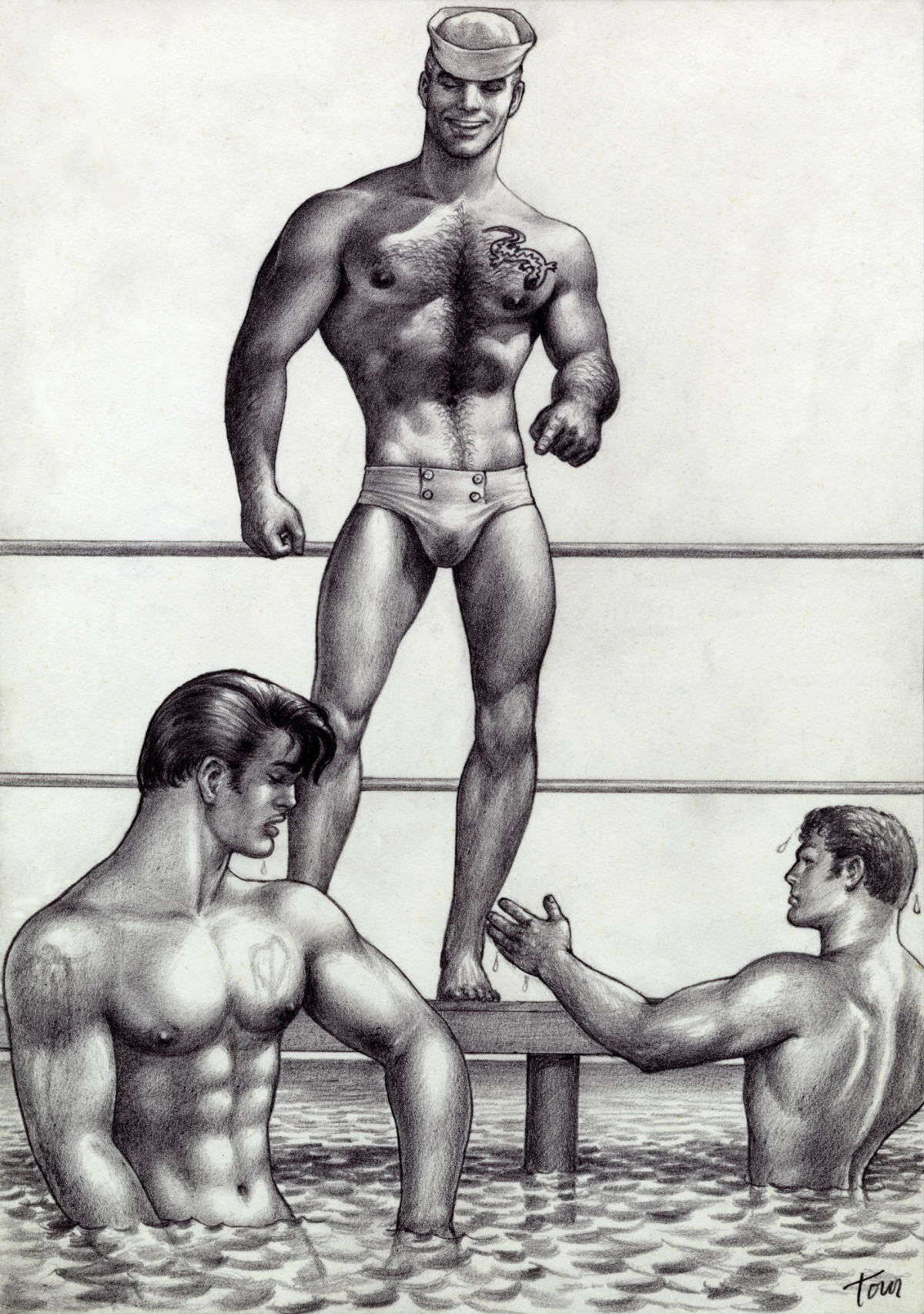 Tom of Finland swimmers