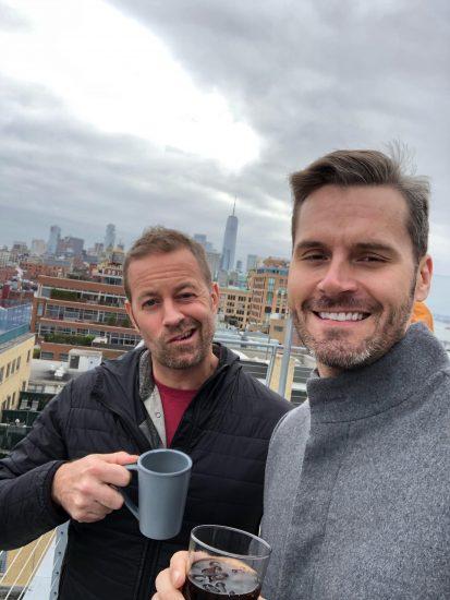 Daryl & Travis rooftop