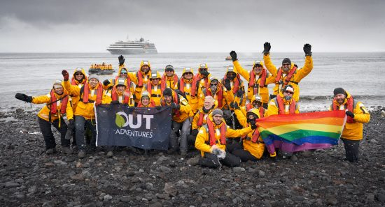 Out Adventures Antarctica: Gay Expedition.
