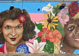 "Marsha P. Johnson & Sylvia Rivera memorial mural in Dallas: ""My God, the revolution is here"""