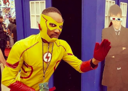 Cosplay the Vote: How Kid Flash will vanquish the super-villainous Trump
