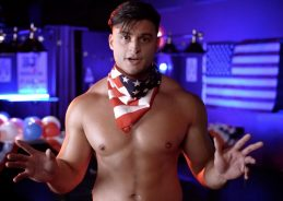 "Gay club's male dancers encourage Georgia voters to ""swing the senate"""