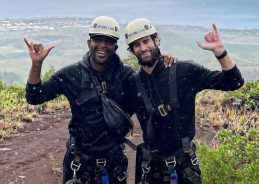 Karamo Brown and Chris Salvatore enjoy a romantic weekend in Hawaii