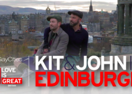 WATCH: Great British Adventure: Kit & John in Edinburgh